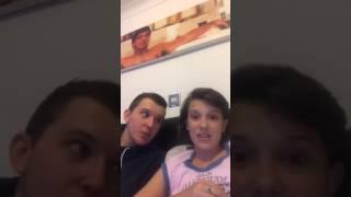 Millie Bobby Brown - Instagram Livestream 03-08-2017