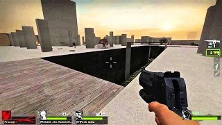 Left 4 Dead 2 - Tanks Playground Custom Survival Map Multiplayer Gameplay Playthrough