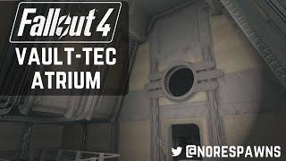Fallout 4 Vault-Tec Workshop - Atrium & 1x2 Size Rooms