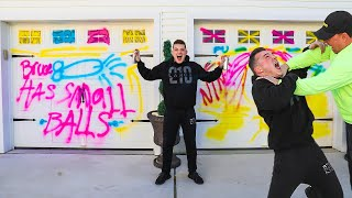 SPRAY PAINTING MY PARENTS HOUSE