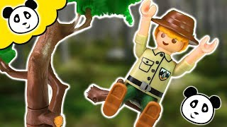 PLAYMOBIL Kita - Förster stürzt vom Baum - Playmobil Film