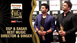 Dsp And Sagar Funny Chat With Viva Harsha  Best Music Director  Singer  Telugu  Iifa Utsavam