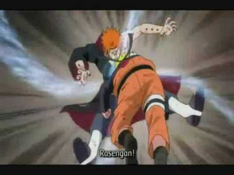 Naruto vs Pain final battle amv