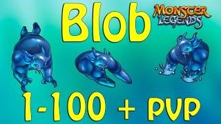 Monster Legends - Review BLOB 1-100 + pvp