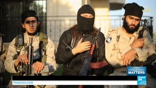 Islamic state group militants threaten to overrule Hamas in Gaza and uproot Israel