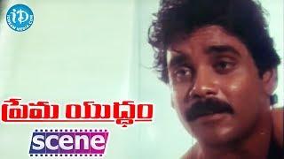 Prema Yuddham Movie - Nagarjuna, Amala Best Scene