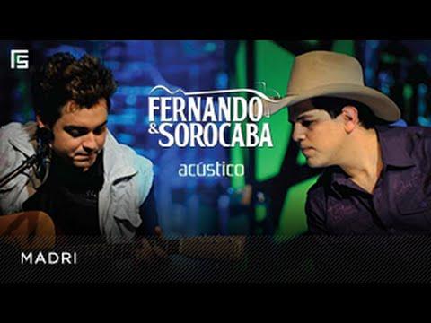 Fernando & Sorocaba Madri DVD Acústico