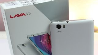 Hindi Lava V5 Unboxing and Hands on !
