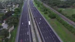 Dji Phantom 3 on Interstate 95 - Aventura, FL