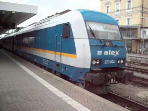 BR 223 064 (ALX), ALX München-Regensburg-Prag/Hof Teil 1 - Regensburg Hbf.
