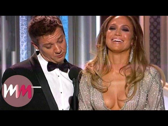 Top 10 Cringiest Golden Globe Moments