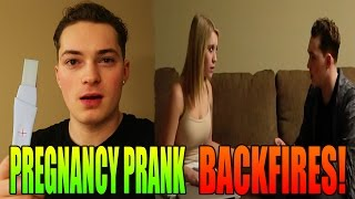PREGNANCY PRANK BACKFIRES