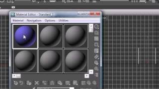 3Ds Max Tutorial - 15 - Material Editor