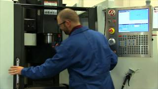 HAAS CNC Vertical Mill Part Set-up Tutorial