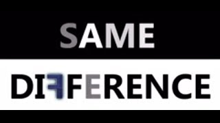SAME DIFFERENCE - A Short Film