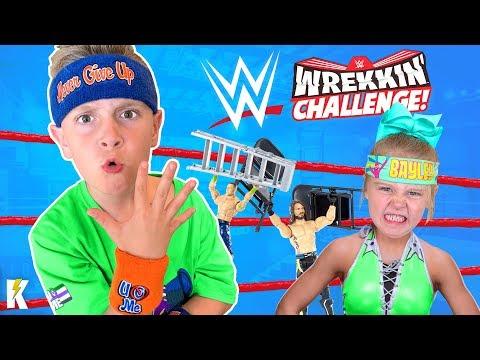 WWE Wrekkin Performance Center Challenge KIDCITY