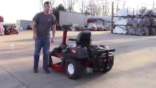 Toro Timecutter SWX Residential Zero Turn Mower Review