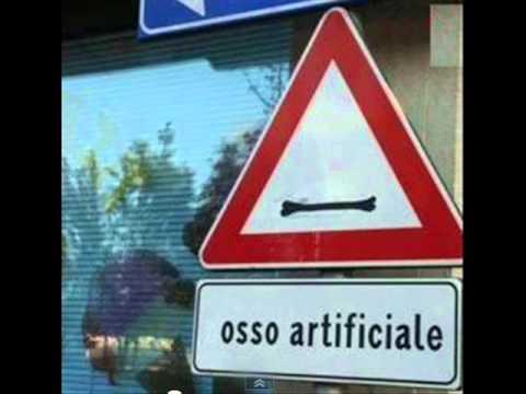 Segnali stradali divertenti ITALIA