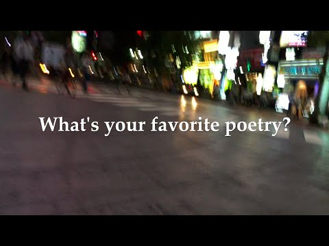 What's your favorite poetry?