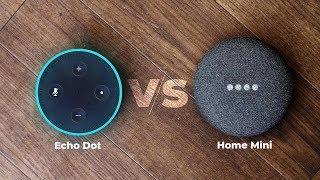 Google Home Mini vs Amazon Echo Dot: Which One To Buy?