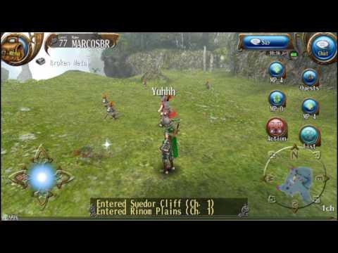 [ Toram Online ] localização de 5 espadas // parte #1