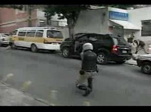 Flagrante de sequestro relâmpago em Belo Horizonte