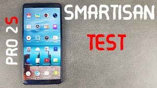 Smartisan Pro 2S Test, Amoled, snapdragon 710