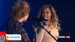 Beyoncé   Drunk In Love Acoustic feat  Ed Sheeran Live @ Global Citizen Fes