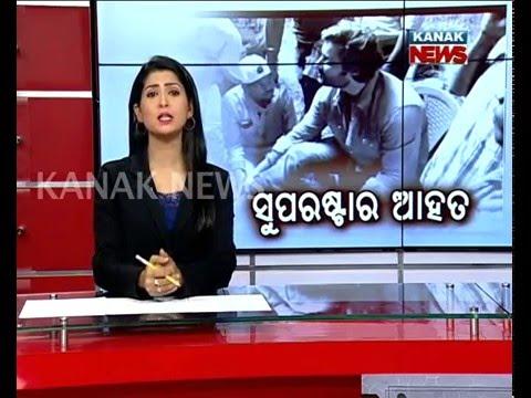 Anubhav Mohanty Injured in Agastya Set