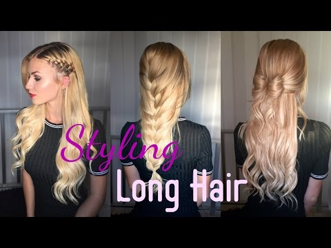 Amazing Ways to style Long Hair | Irresistible Me Extensions | Stella