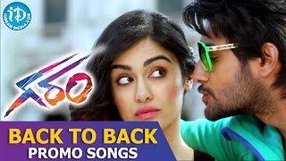 Garam Movie Full Video Songs || Back To Back Promo Songs || Aadi, Adah Sharma || Agasthya
