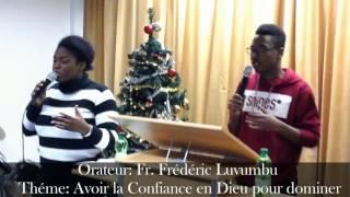Fr.Frédéric Luvumbu dans Avoir la Confiance en Dieu pour dominer