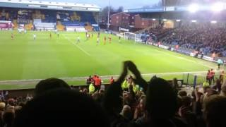 Bury fans vs Rochdale 13/4/17