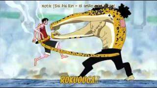 Luffy vs lucci pelea final HD