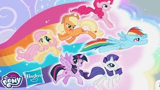 My Little Pony Rainbow Runners - Epic Color Rush - All Ponies Rescue Ponyville #1- Game For Kids