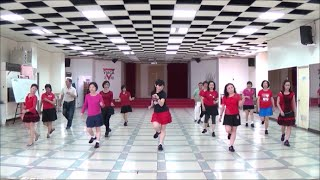 I'm Alive (by Totoy Pinoy) - line dance (demo & walk through) = 好好活著 - 排舞(含導跳)