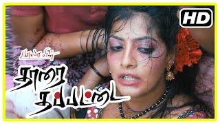 Tharai Thappattai Movie | Scenes | Varalakshmi scenes | Sasikumar | R K Suresh | G M Kumar | Bala