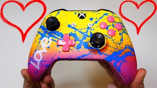 SISTER Unboxing NEW CUSTOM CONTROLLER!! Controller Chaos Unboxing