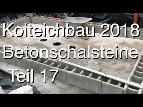 Xxx Mp4 Teichbau Koiteichbau 2018 Teil 17 Die Ersten Betonschalsteine Legen Die Teichform Fest 3gp Sex