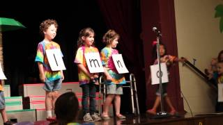 Chicka, Chicka, Boom Boom Skit - Kindergarten Program 2013
