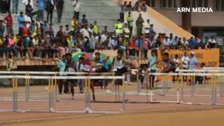 Mens 110m Hurdles Final All India University Athletics 2017