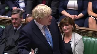 Live: MPs debate Boris Johnson