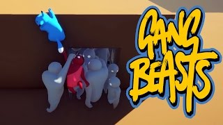 Gang Beasts - GRAB MY TAIL!!! [Father and Son Gameplay]