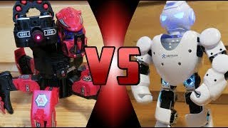 ROBOT DEATH BATTLE! - Alpha 1S VS Space Warrior (ROBOT DEATH BATTLE!)