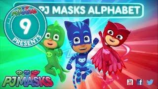 PJ Masks Creation 09 - The PJ Masks alphabet!