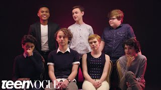 """The Cast of """"It"""" Rates Everyday Scary Things 
