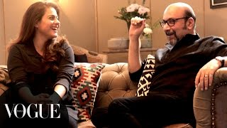 You can't miss Kajol and Mickey Contractor on tonight's 'Vogue BFFs'