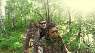2 Idiots in a Forest doing WHAT?!