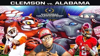 CFB NATIONAL CHAMPIONSHIP GAME!!! CLEMSON VS ALABAMA - THE REMATCH - NCAA FOOTBALL 14 GAMEPLAY