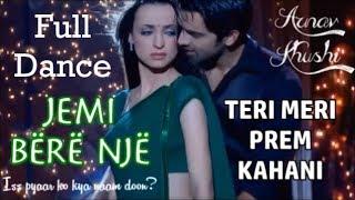 Arnav and Khushi - Full Dance Teri Meri Prem Kahani Albanian Lyrics | Iss Pyaar Ko Kya Naam Doon?